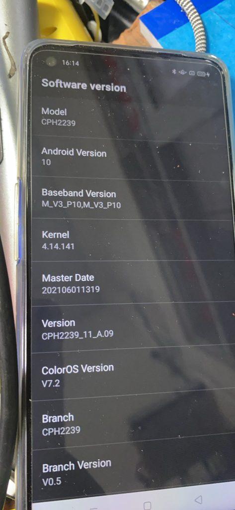 Xoá mật khẩu Oppo A54 | CPH2239 xoá mật khẩu ok