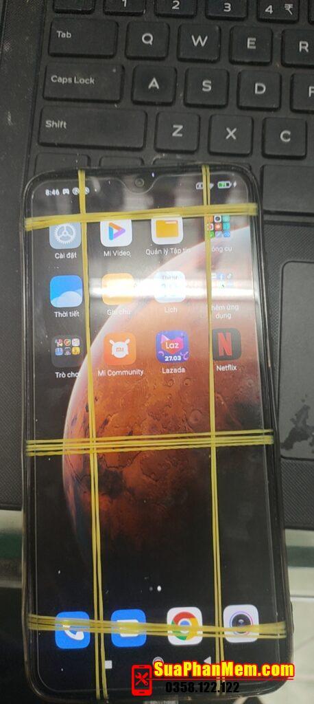 Xiaomi Redmi Note 8 Pro fix liệt cảm ứng khi cập nhật phần mềm