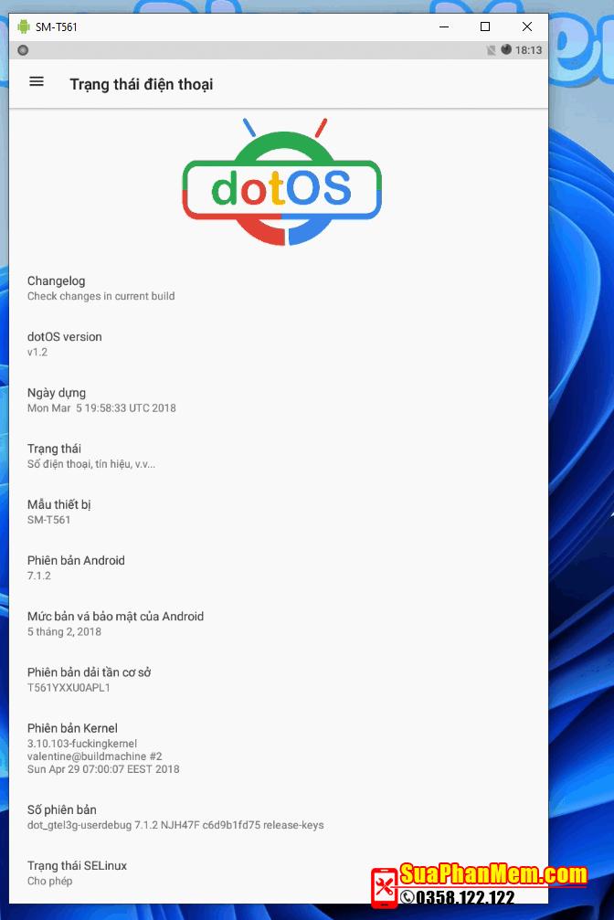 Nâng cấp Android 7.1.2 Samsung Tab E SM-T560 SM-T561Y cài Zoom, Meet...